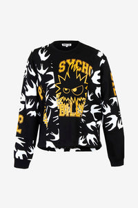 sweatshirt black pattern