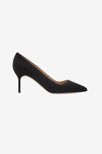 Manolo Blahnik BB Pick Tora classic pumps in black suede
