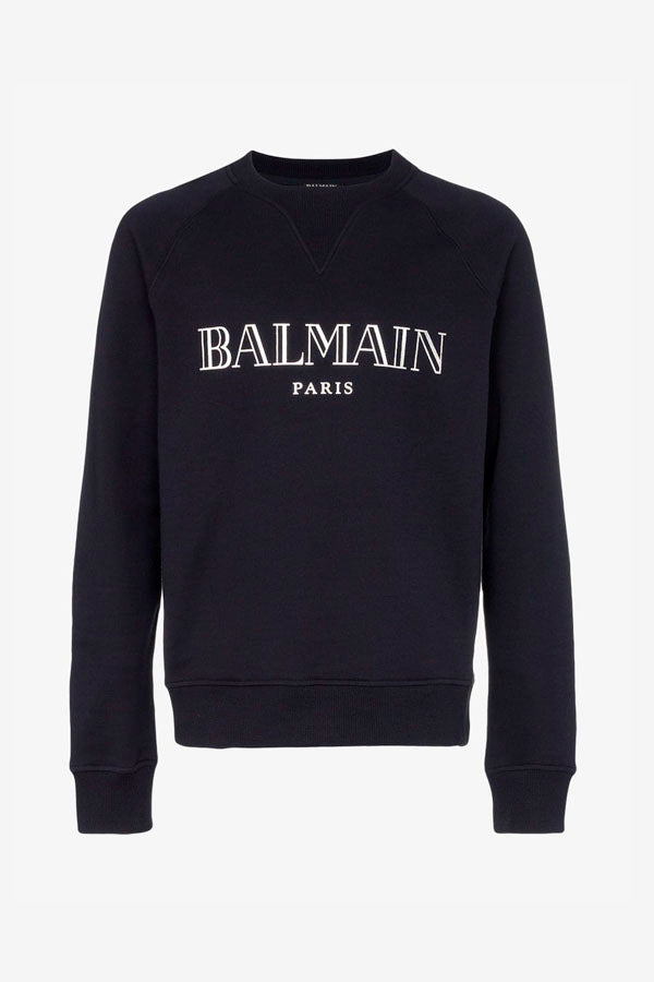 Balmain Paris Sweatshirt Black