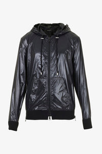 Balmain Galaxy Print Bomber Black Purple