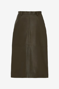 Bellis Skirt Leather