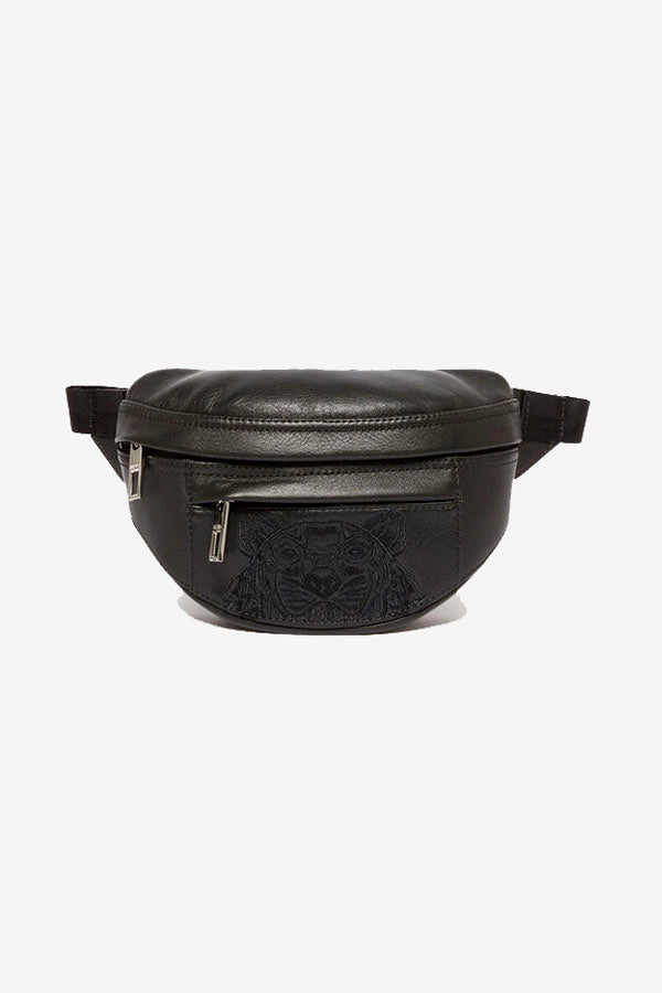 Mini leather bumbag