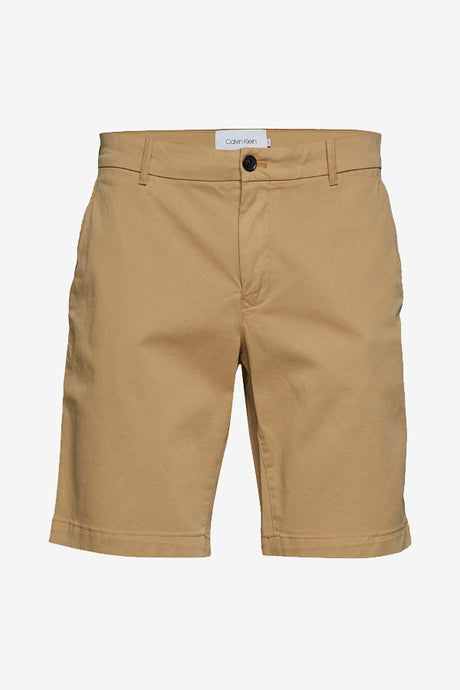 Slim fit shorts with pockets