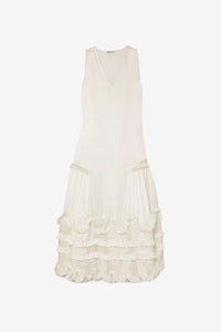 Cecilie Bahnsen White Women's Poppy Dress