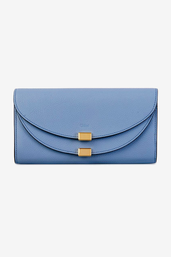 long wallet Chloe blue