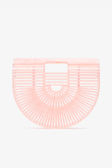 Acrylic Ark Small Bag in Pink