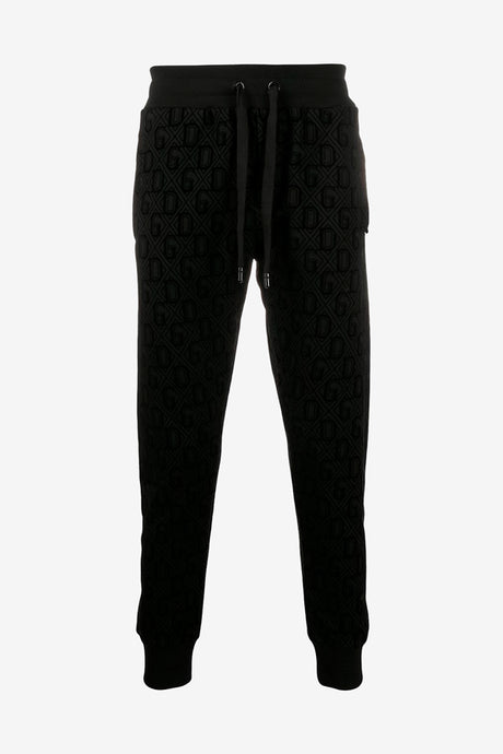 Trackpants from Dolce & Gabbana with all-over DG woven print