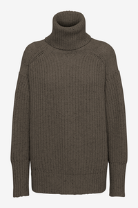 Diana Knit with turtleneck in taupe from REMAIN Birger Christensen
