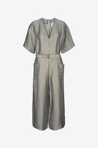 Dalmine jumpsuit with waist belt