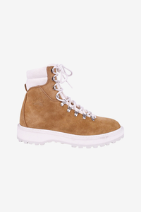 dime suede boot camel hiking outdoor