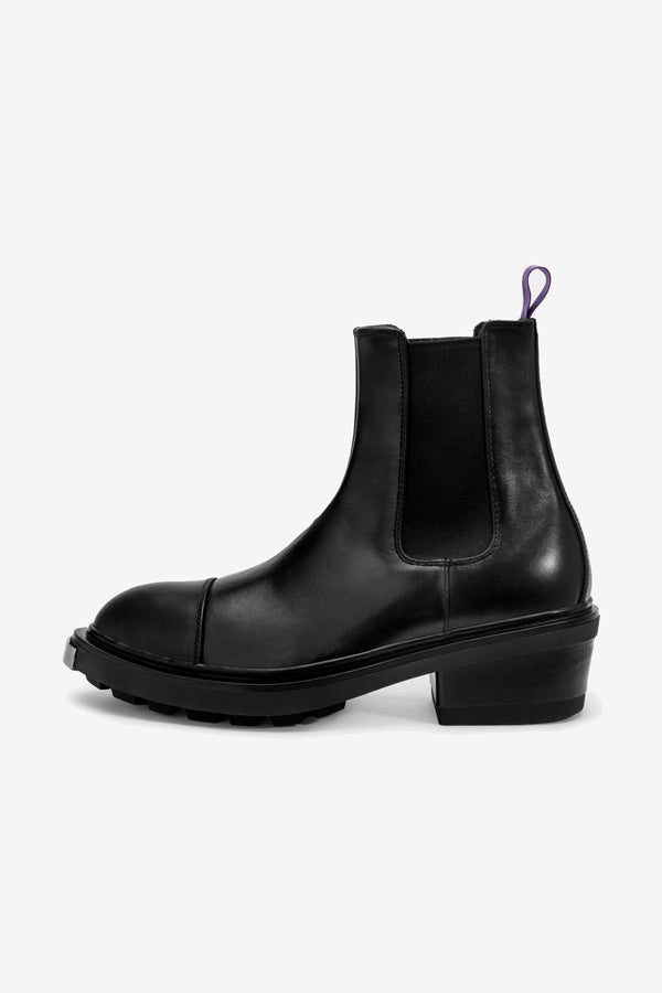 Eytys Nikita Boots Black Leather Chelsea Boots