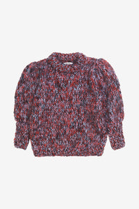Julliard Mohair Puff Sleeve Pullover from Ganni