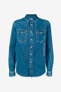 Logo Denim Shirt