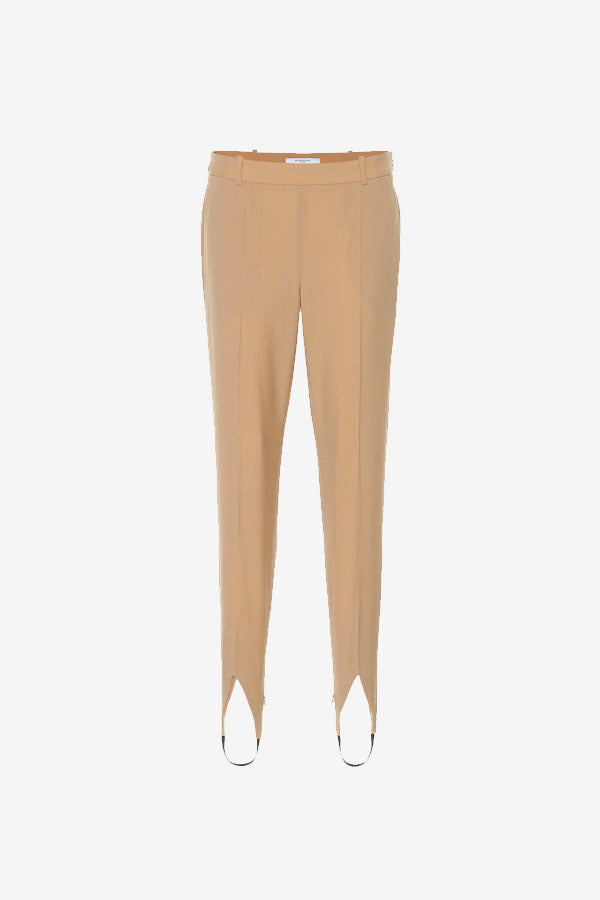Givenchy Stirrup Pants Beige Wool