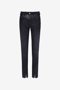 Skinny jeans Givenchy black denim washed