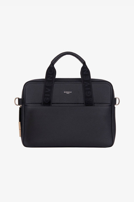 Givenchy black briefcase slim laptop