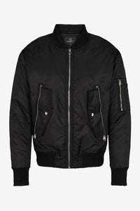 Hero Bomber Black Bruun Bazaar Men