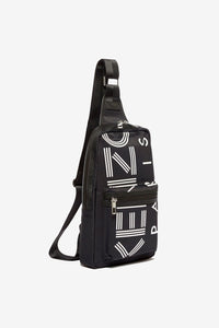 'Crew' Logo Cross-Body Bag
