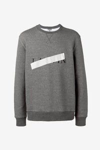 sweatshirt grey logo
