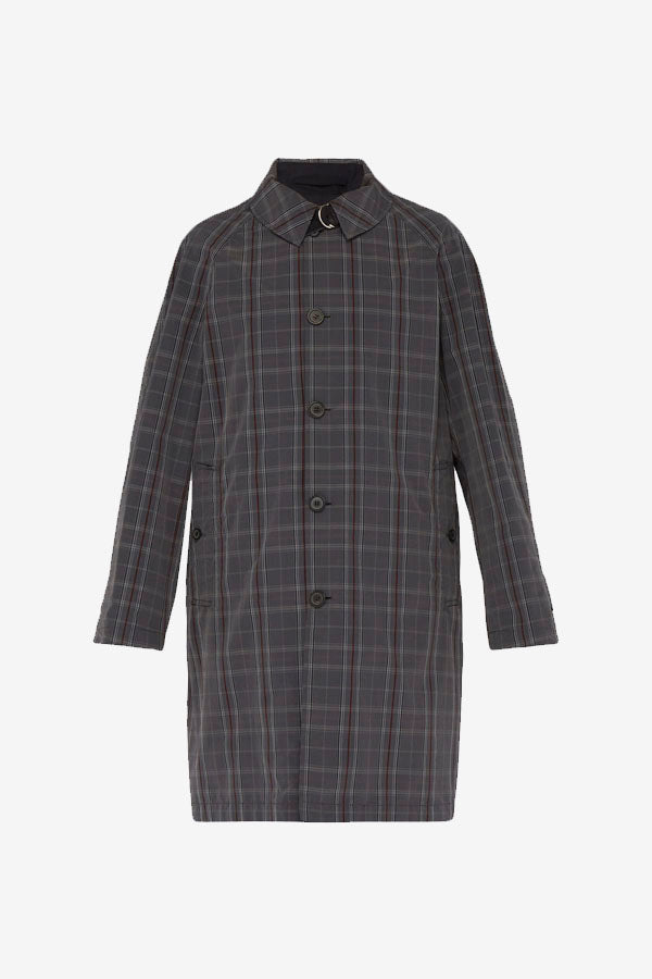 Reversible Cotton Trench Coat