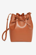 tan bucket bag mansur Gavriel