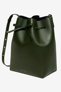 mini bucket bag mansur Gabriel green