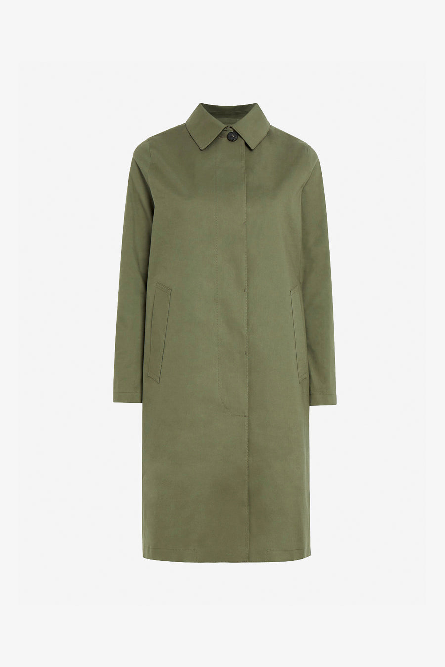 Great Leaf Bonded Cotten Coat