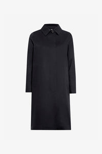 Mackintosh blended coat black