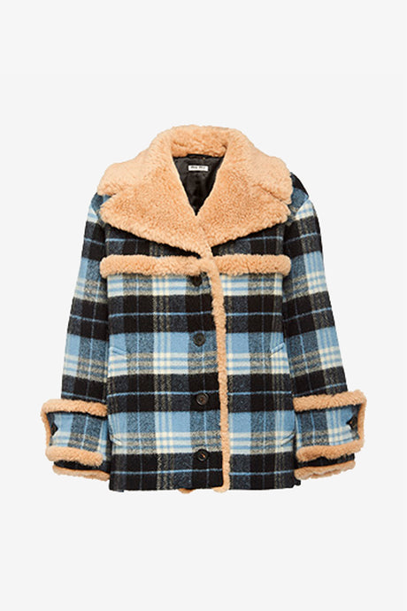 Miu Miu Plaid jacket