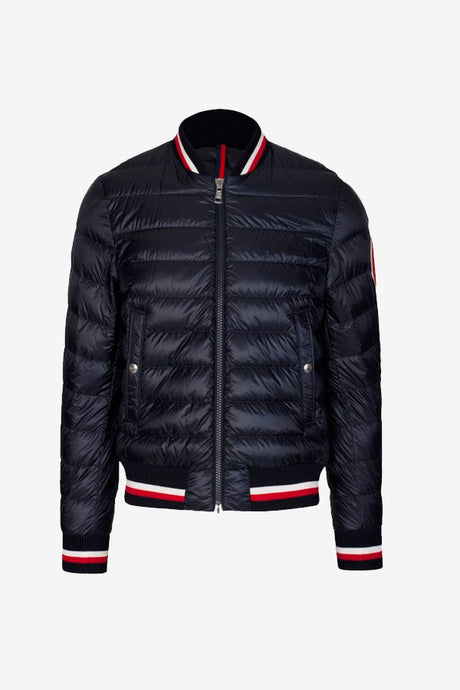 Navy Men's bomber jacket moncler