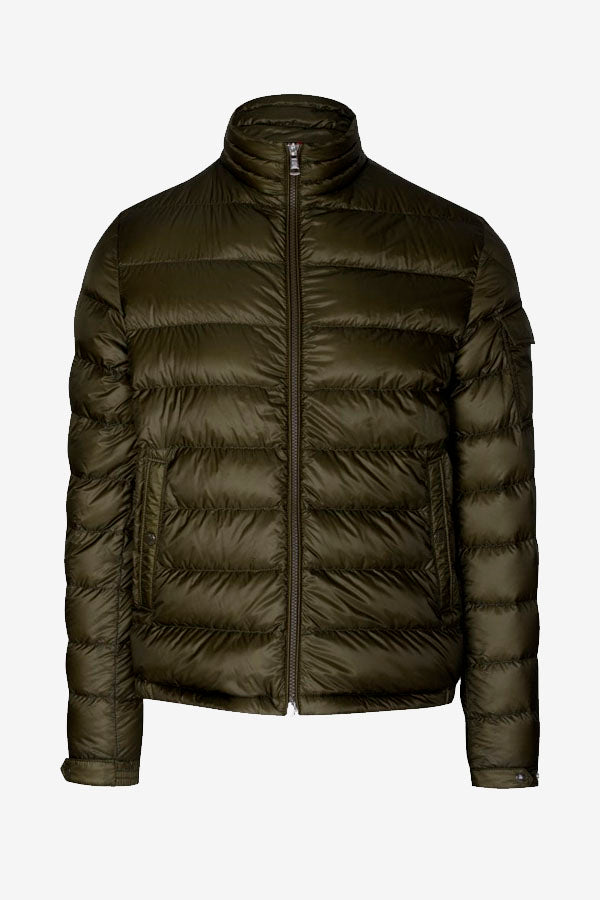 Men's Olive Green Moncler Lambot Down Jacket