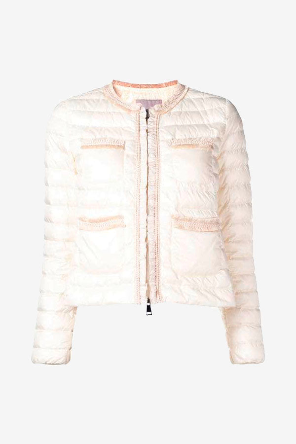 Cropped Quilted Jacket woman Moncler