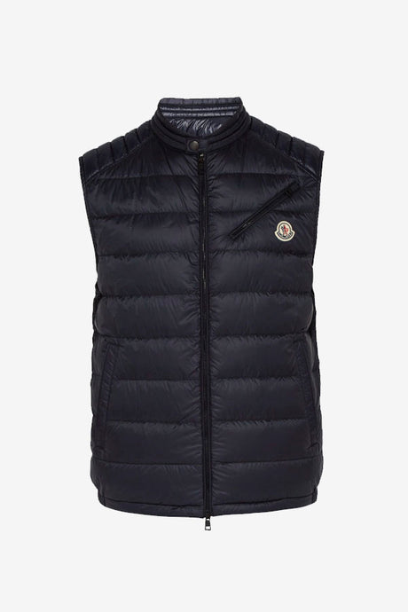 Down-filled logo vest from Moncler