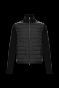 Moncler cardigan black down