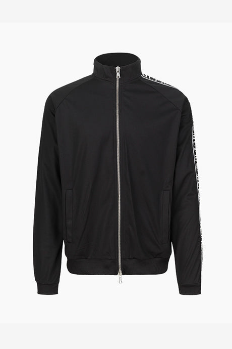 MUF10 Tracksuit Jacket Black Logo Panel