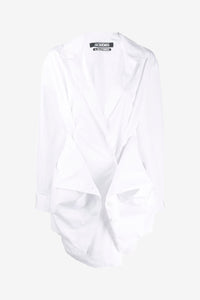 Murano shirt-dress in white from Jacquemus