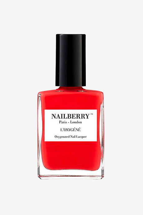 Pop My Berry from L'Oxygene is a bright colored nailpolish.