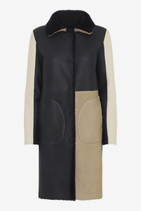Pablo Reversible Shearling Coat