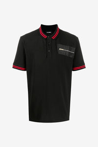 Zipped Pocket Polo