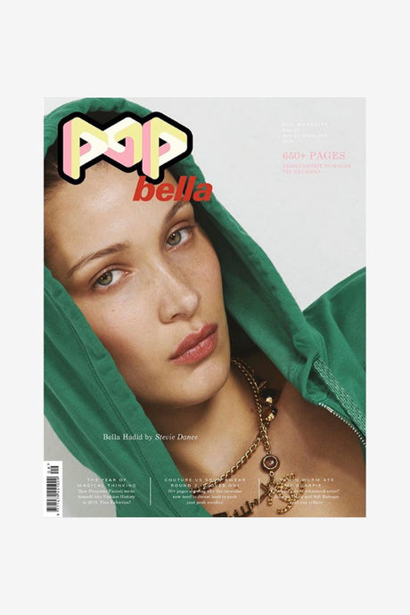 Pop Magazine September issue front cover Bella Hadid
