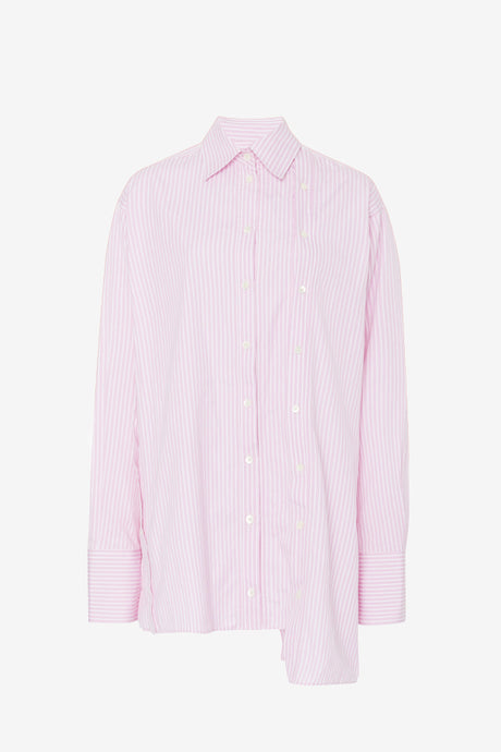 Striped shirt shirt with long sleeves