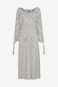 Mamasita Dress from Saks Potts, in SP white logo print