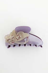 Butterfly Lilac Hair Clip