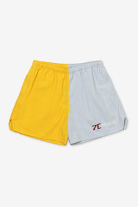 Champion shorts with a bowing inspired fit