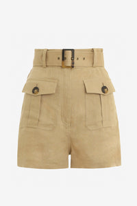 Sand high waisted shorts