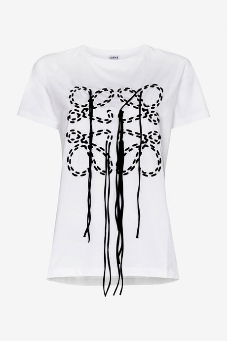 Loewe t-shirt with embroidery details