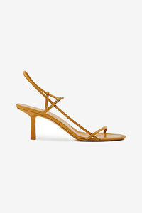 The Row Bare Sandal Chestnut Yellow Gul