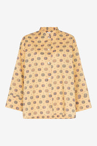 Zahora yellow shirt with print