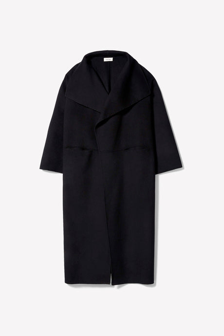 Totême Annecy coat black