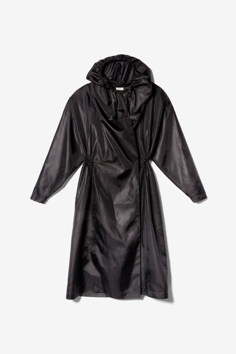 Totême Cecina Hooded coat. Shop at Birger Christensen